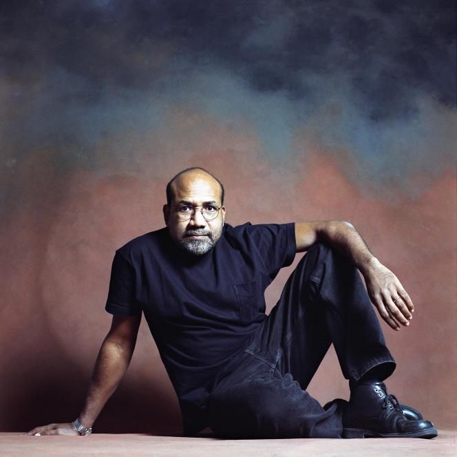 L'écrivain Patrick Chamoiseau, en 2002.