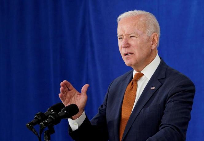Le président Joe Biden, lors d'un discours le 4 juin 2021 dans le Delaware.