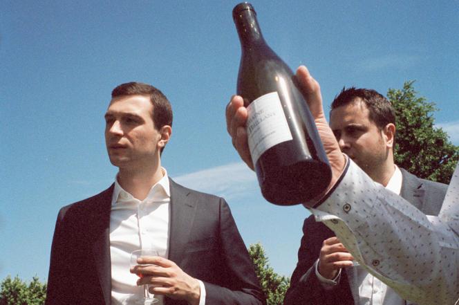 A la rencontre de vignerons de Seine-et-Marne, le 29mai 2021.