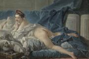 «L'Odalisque brune» de François Boucher (1703-1770), 1745, huile sur toile, Paris, musée du Louvre.