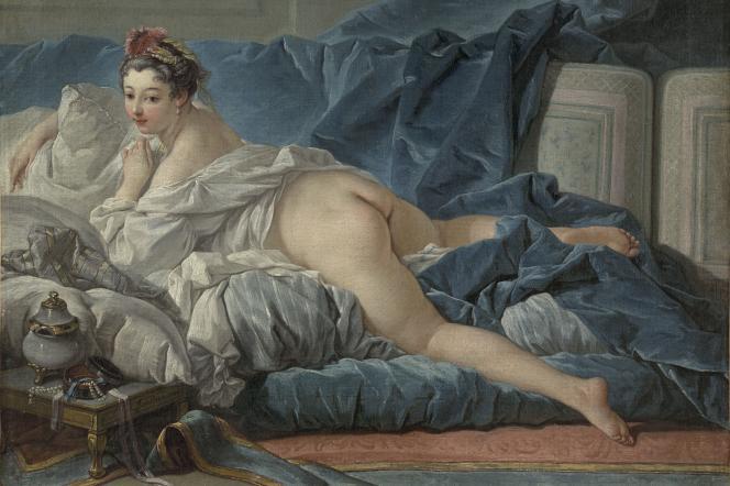 «L'Odalisque brune» (1745), de François Boucher (1703-1770), huile sur toile, Paris, Musée du Louvre.