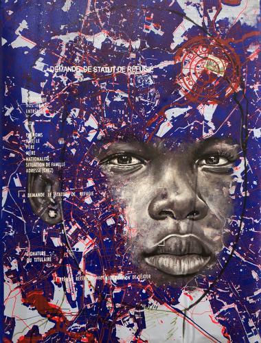 « www.look of hopes@.com, #5 », de Jean-David Nkot, 2021.