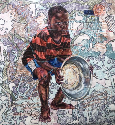 « #chaine@commercialisation.fr», de Jean-David Nkot, 2021.