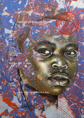 « www.look of hopes@.com, #6 », de Jean-David Nkot, 2021.