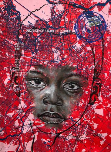 « www.look of hopes@.com, #1», de Jean-David Nkot, 2021.