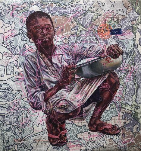 « @ppte/production/or/.gmail.com», de Jean-David Nkot, 2021.