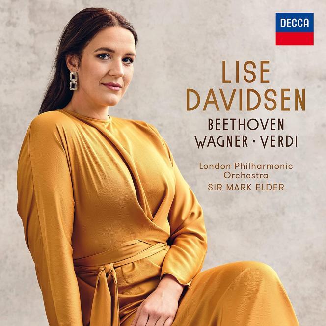 Pochette de l'album « Beethoven – Wagner – Verdi», de Lise Davidsen.