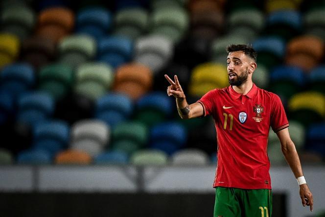 Après une saison accomplie avec Manchester United, le meneur de jeu Bruno Fernandes est l'un des leaders de la sélection portugaise, tombée dans le « groupe de la mort» avec la France, l'Allemagne et la Hongrie.