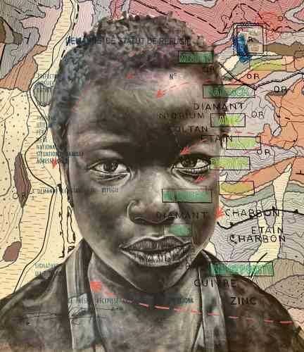 « BP.Child of Calabar», de la série« Jungle Story», de Jean-David Nkot, 2020.