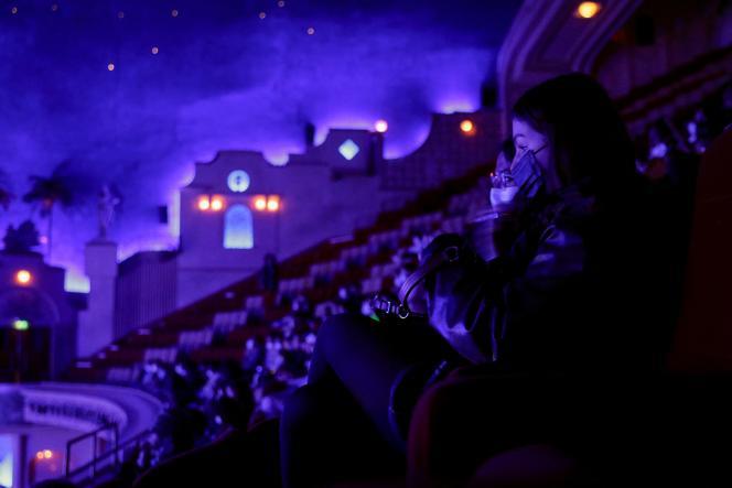 Au cinéma Grand Rex à Paris, le 19 mai 2021.