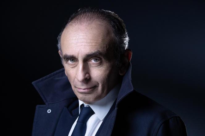Eric Zemmour, à Paris, le 22 avril.
