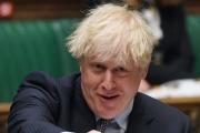 Le premier ministre britannique Boris Johnson, lors d'une séance à la Chambre des communes, à Londres,le 9 juin 2021.