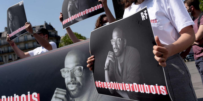 A Bamako et Paris, des rassemblements pour la libération d'Olivier Dubois, otage au Mali