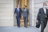 Le premier ministre Jean Castex et le président de la République Emmanuel Macron, lors du conseil des ministres, à l'Elysée, le 9 juin 2021.