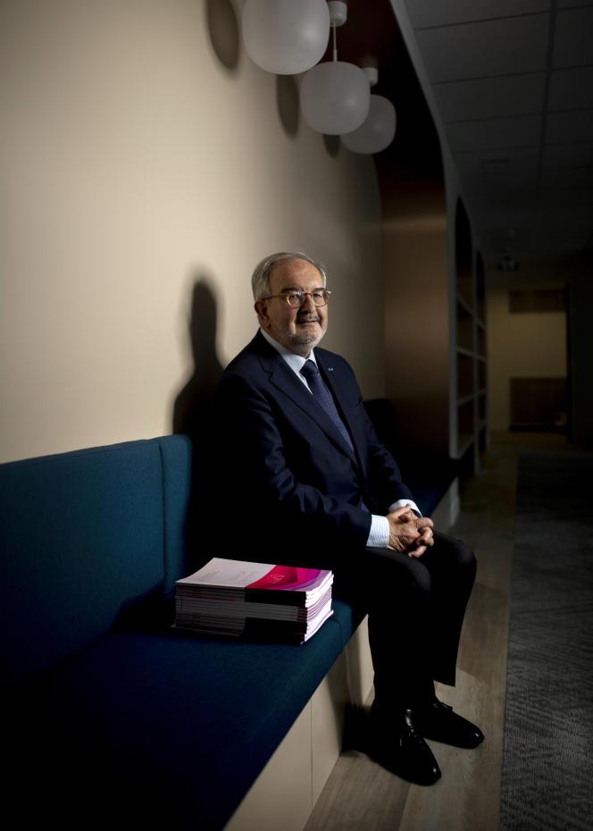 Jean-Philippe Vachia, président de la Commission nationale des comptes de campagne et des financements politiques, le 8 juin à Paris.