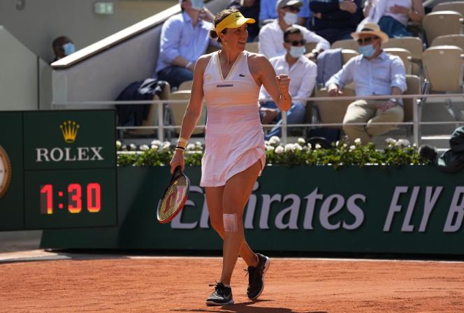 La Russe Anastasia Pavlyuchenkova, qui fêtera ses 30 ans le mois prochain accède à sa première finale en Grand Chelem.