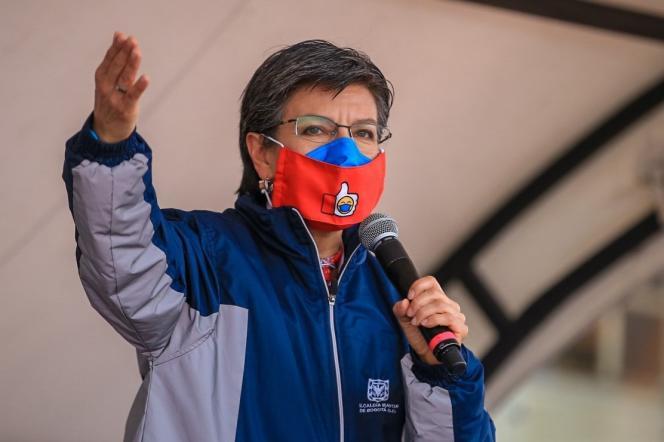Claudia Lopez, première femme maire de Bogota.