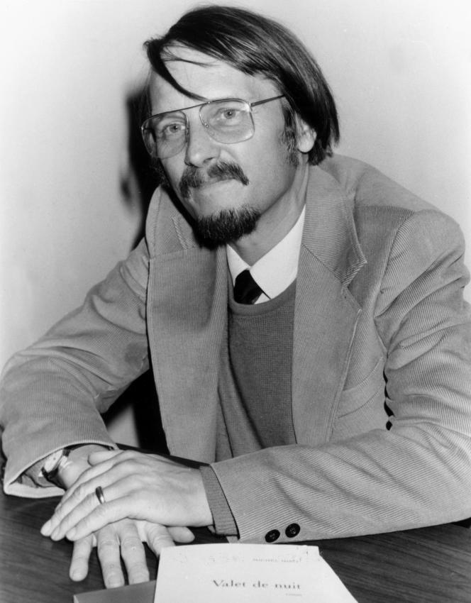 Michel Host, le 17 novembre 1986.