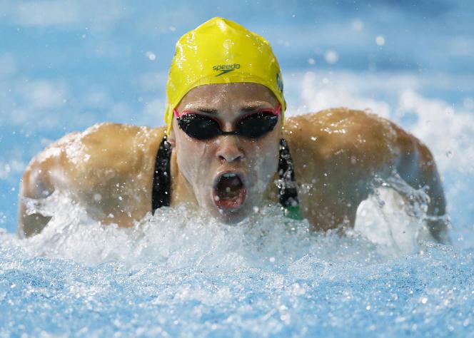 La nageuse australienne Maddie Groves, ici en juillet 2014.