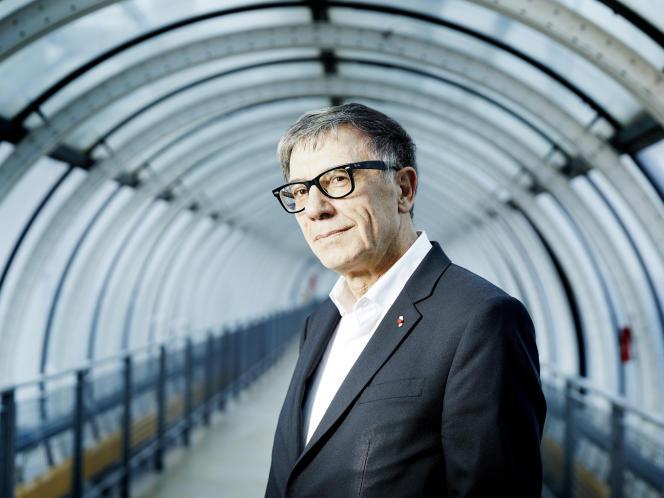 au Centre Pompidou, «tout ce que j'avais annoncé, je l'ai fait»