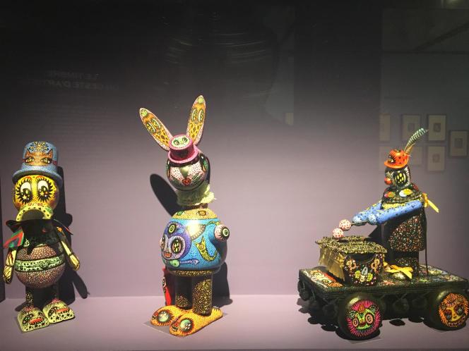 « Jouets vintage», par Ciou, exposés au Musée de La Poste.