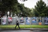 Des panneaux électoraux, à Nantes, pour les élections régionales et départementales du 20 et 27 juin.