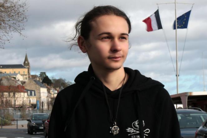 Victor Pailhac, 19 ans, tête de la liste «Oser l'écologie» pour les régionales en Ile-de-France.
