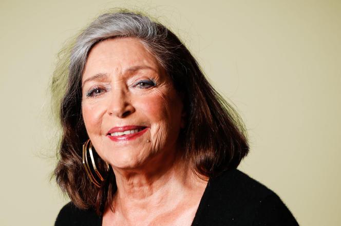 Françoise Fabian, en avril 2021, à Paris.
