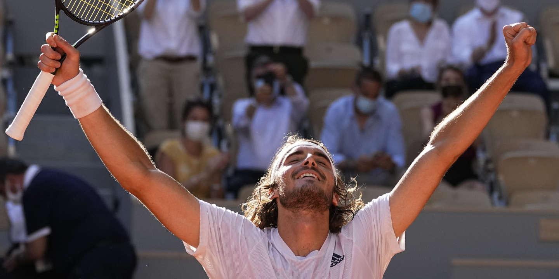 Roland-Garros : vainqueur de Zverev, Tsitsipas face au plus grand défi de sa carrière