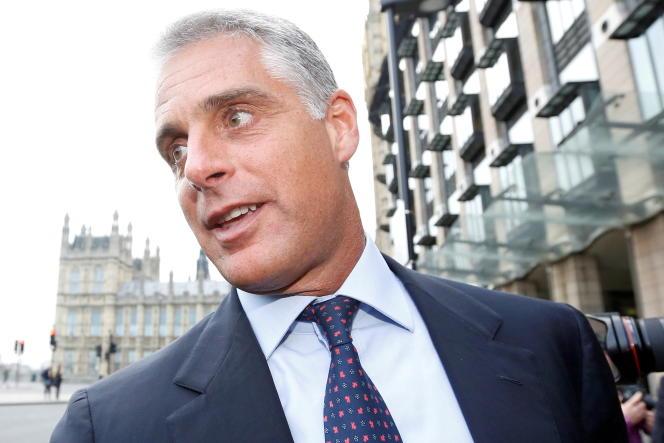 Andrea Orcel, alors patron de la banque d'investissement de UBS, à Londres, en 2013.