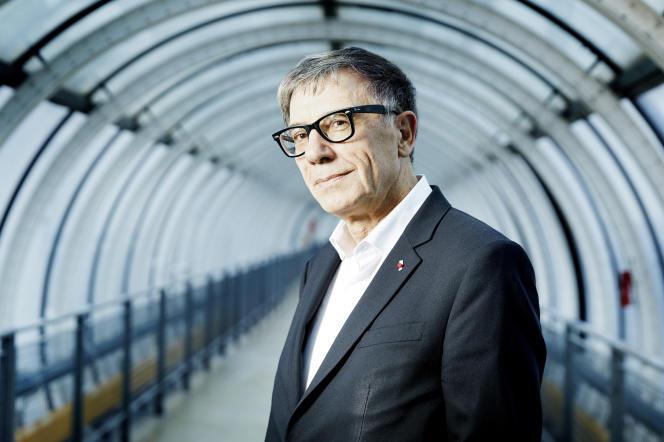 Serge Lasvignes, en décembre 2019 au Centre Pompidou, à Paris.