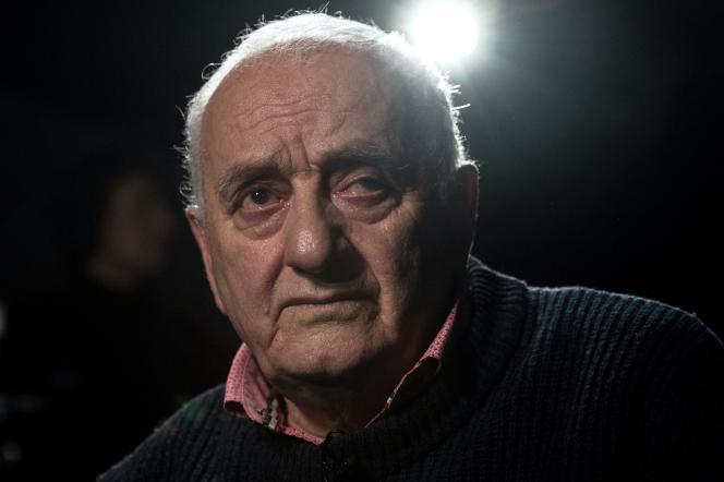 Rezo Gabriadze, à Moscou, en 2016.