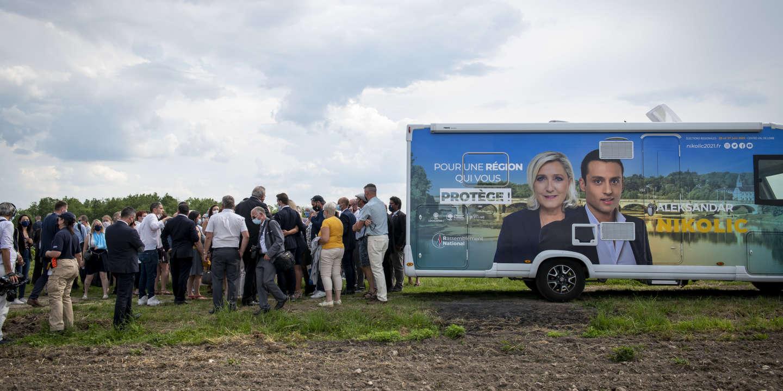 Présidentielle 2022 : l'autre « tour de France » de Marine Le Pen