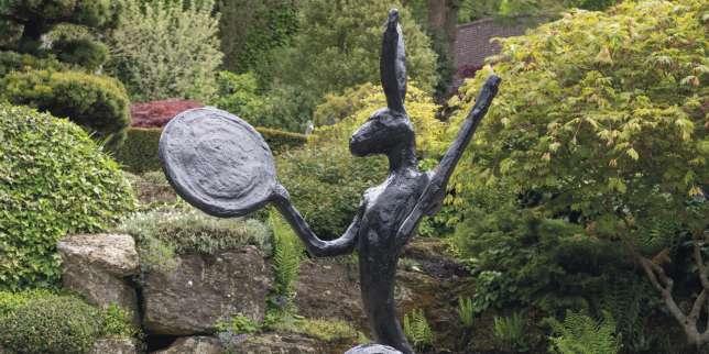 Des œuvres d'art pour agrémenter son jardin