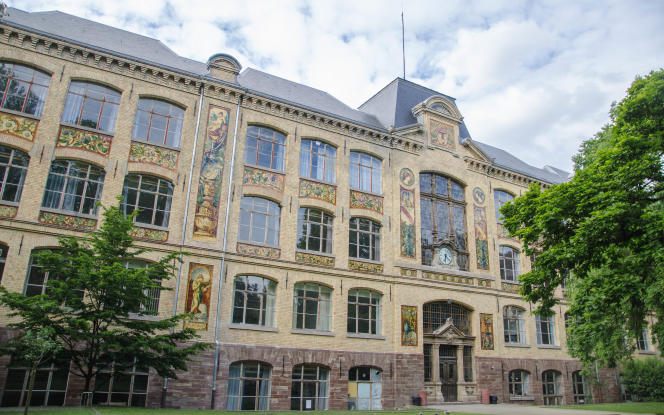 La Haute Ecole des arts du Rhin, à Strasbourg le 20 mai 2017.