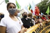 Une «Marche des libertés» contre l'extrême droite dans 140villes en France