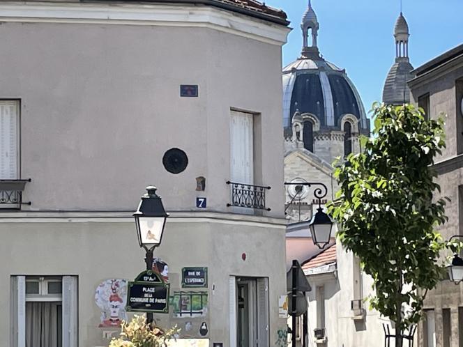 La place de la Commune de Paris à la Butte-aux-Cailles (Paris 13e), dimanche 13 juin 2021.