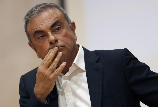 Carlos Ghosn, ancien patron de Renault-Nissan, a fui en décembre 2019 le Japon, où il était poursuivipour des malversations financières présumées.