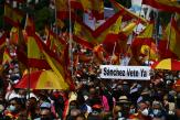 En Espagne, les droites manifestent contre le projet de gracier les dirigeants indépendantistes catalans