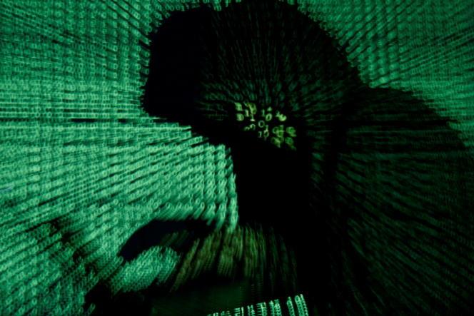 Projection d'un cybercode.