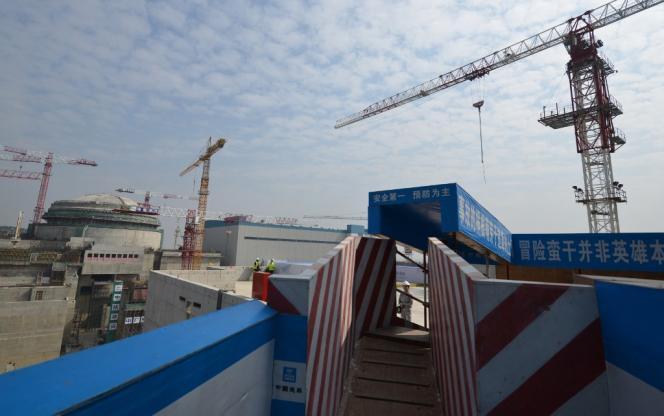 La centrale nucléaire de Taishan, dans la province du Guangdong, le 8décembre2013.