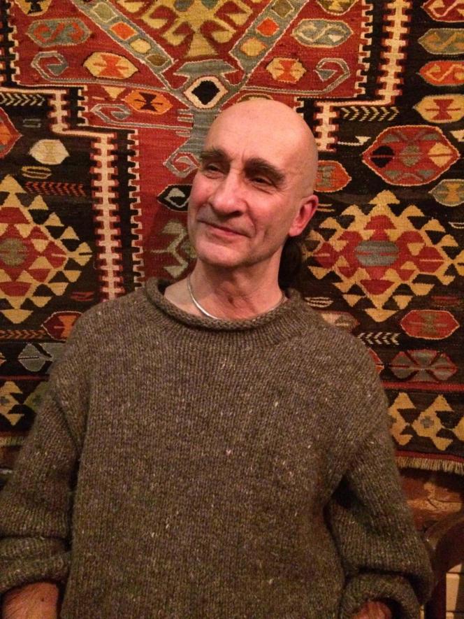 Marc Tomsin, en 2016, dans un restaurant parisien.