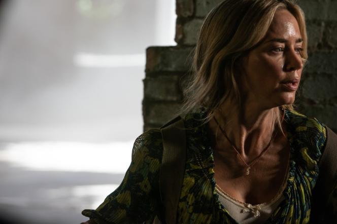 Evelyn Abbott (interpretata da Emily Blunt) nel film
