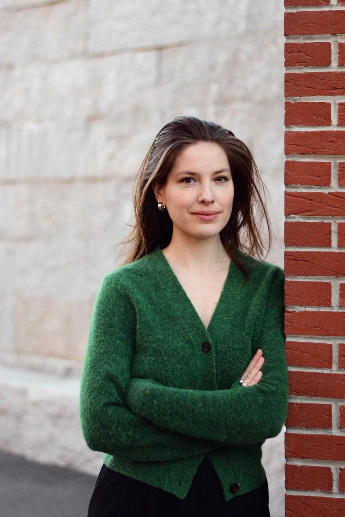 Erika Pinner, en février.