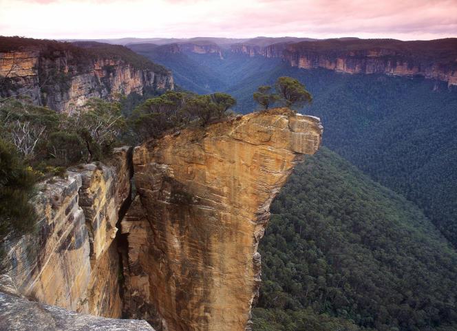 De vastes zones du Blue Mountains National Park, classé au patrimoine mondial de l'UNESCO, ont été touchées par les incendies. Les villes touristiques populaires telles que Katoomba et Leura ont toutefois été épargnées.