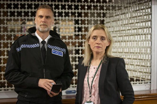 Dave Minty (Darren Boyd) et Tracy Daszkiewicz (Anne-Marie Duff) dans «The Salisbury Poisonings», par Saul Dibb.