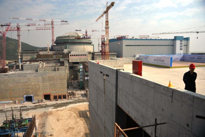 La centrale nucléaire de Taishan, construite avec EDF, dans le sud de la Chine, ici endécembre 2013.