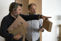 Bruno et Denis Podalydès dans«Les Deux Alfred».