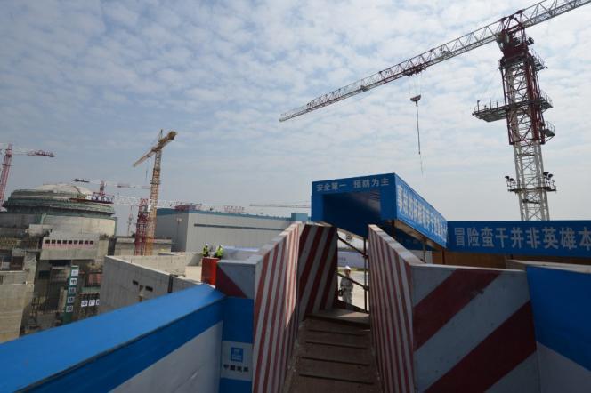 La centrale nucléaire de Taishan, dans le sud-ouest de la Chine,le 8 décembre 2013.