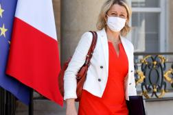 La ministre de la transition écologique Barbara Pompili, à l'Elysée, à Paris, le 9 juin.